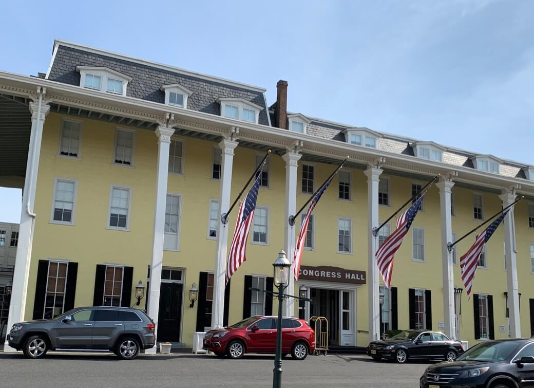 Congress Hall in Cape May NJ