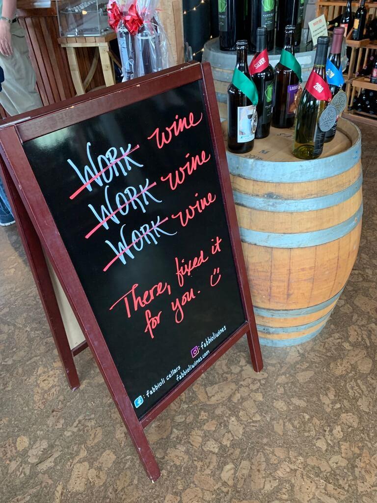 Fabiola cellars winery
