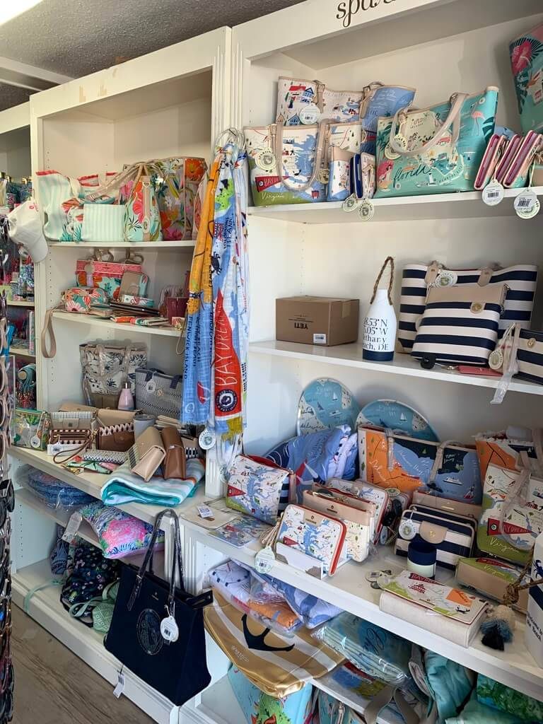 Inside Fish Tales Boutique - Fun Things to Do in Bethany Beach